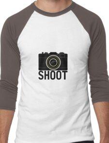 Shoot - photographer's camera Men's Baseball ¾ T-Shirt