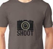 Shoot - photographer's camera Unisex T-Shirt