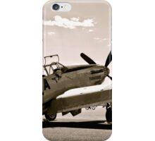 Tuskegee P-51 Mustang Vintage Fighter Plane iPhone Case/Skin