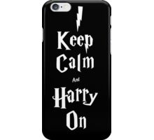 Keep calm and Hu(a)rry on iPhone Case/Skin