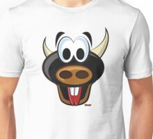 Torito alegre Unisex T-Shirt