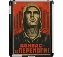 Donbas until we overcome iPad Case/Skin