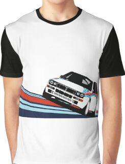 1992 Rally Race Car Graphic T-Shirt