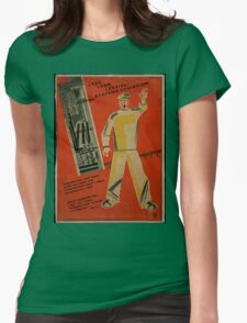 The Future Of Socialism Womens Fitted T-Shirt