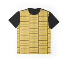 Dean's Golden Tickets on Black Graphic T-Shirt