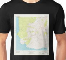 USGS TOPO Map Hawaii HI Makena 349564 1954 24000 Unisex T-Shirt