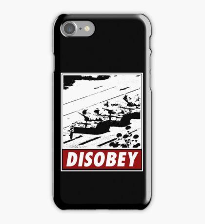 Tank Man- Disobey iPhone Case/Skin