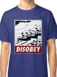 Tank Man- Disobey Classic T-Shirt