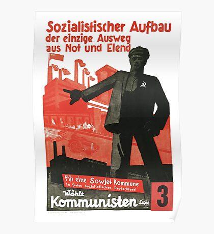 Socialist Construction Poster