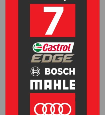 Audi R18 e-tron #7 LeMans 2016 Sticker