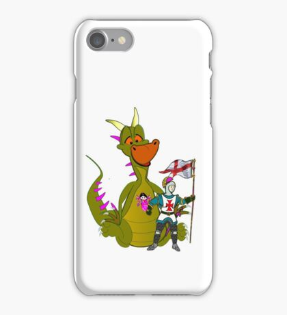The Town is Safe (he is just waiting for his girlfriend) iPhone Case/Skin