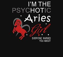 Spychotic Aries Girl Womens Fitted T-Shirt
