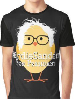 Birdie Sanders Bernie Sanders #BirdieSanders President #FeelTheBird #FeelTheBern Cartoon Meme Graphic T-Shirt