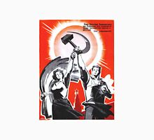 Soviet Poster Unisex T-Shirt