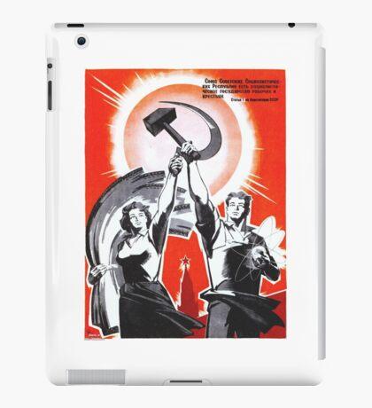 Soviet Poster iPad Case/Skin