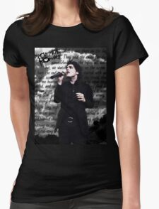 Gerard Way, Disenchanted Womens Fitted T-Shirt