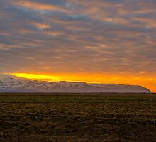 Eyjafjallajökull Sunrise Iceland by Chris Thaxter