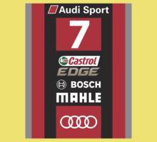 Audi R18 e-tron #7 LeMans 2016 One Piece - Short Sleeve