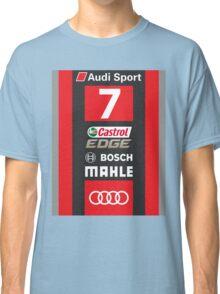 Audi R18 e-tron #7 LeMans 2016 Classic T-Shirt