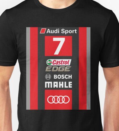 Audi R18 e-tron #7 LeMans 2016 Unisex T-Shirt
