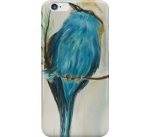 Perched Racket Tailed Roller iPhone Case/Skin