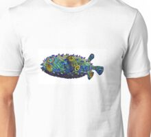Psychedelic pufferfish Unisex T-Shirt