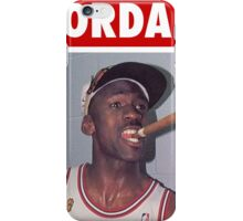 Michael Jordan (Championship Cigar) iPhone Case/Skin