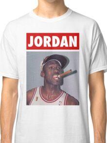 Michael Jordan (Championship Cigar) Classic T-Shirt