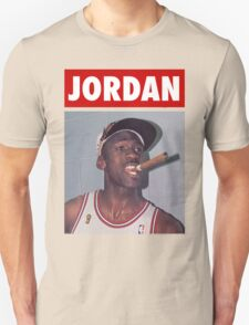 Michael Jordan (Championship Cigar) T-Shirt