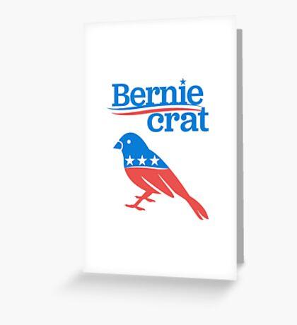 Berniecrat Greeting Card