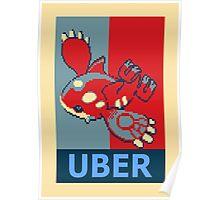 Kyogre Uber Poster  Poster