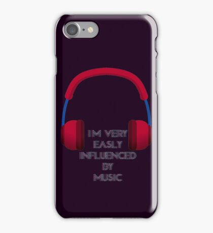 Influenced By Music iPhone Case/Skin