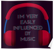 Influenced By Music Poster