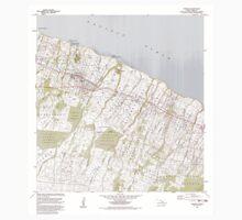 USGS TOPO Map Hawaii HI Honokaa 349287 1983 24000 Kids Tee
