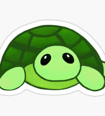 Kenny - the baby tortoise Sticker