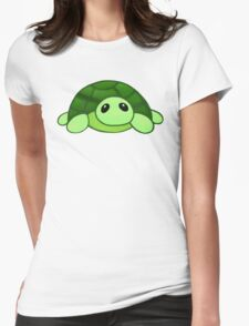 Kenny - the baby tortoise Womens Fitted T-Shirt