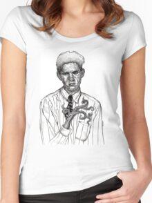 Teen Alien Angst Women's Fitted Scoop T-Shirt