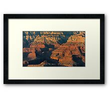 Grand Canyon Glory Framed Print