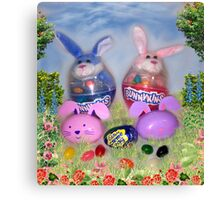 The Bunnykins Canvas Print