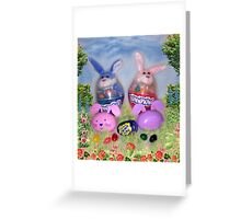 The Bunnykins Greeting Card