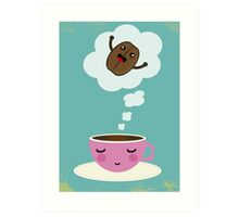 great expectations on coffee 2 Art Print