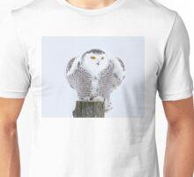 Perch - Snowy Owl Unisex T-Shirt