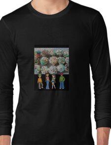 cartoon stain glass/jpcool79 Long Sleeve T-Shirt