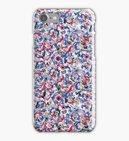 Italian Peacock Floral iPhone Case/Skin
