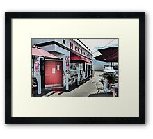 Urban Cafe Framed Print