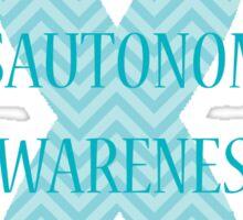 Dysautonomia Awareness - Chevron Sticker