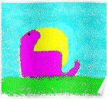 Dino by Ken Yu Poster