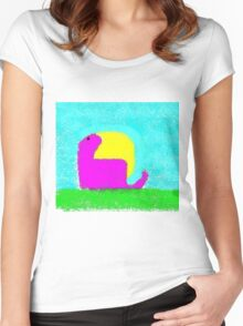 Dino by Ken Yu Women's Fitted Scoop T-Shirt