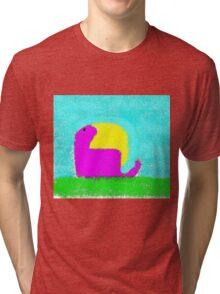 Dino by Ken Yu Tri-blend T-Shirt