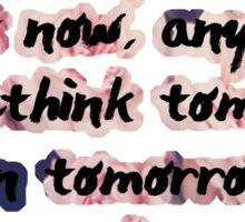 Rethink tomorrow Sticker